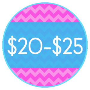 $20.00 -$25.00
