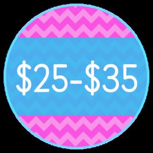 $25.00- $35.00