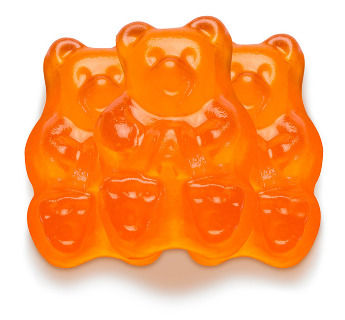 Albanese Gummi Bears- Orange- 5 pounds